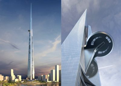 Jeddah Kingdom Tower, the World's Tallest Tower